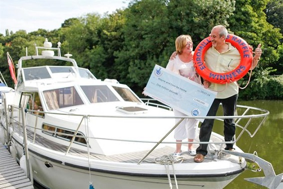 Euromillions joy for couple